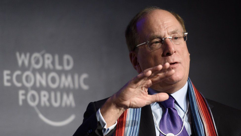 BlackRock Chair and CEO Laurence D. Fink