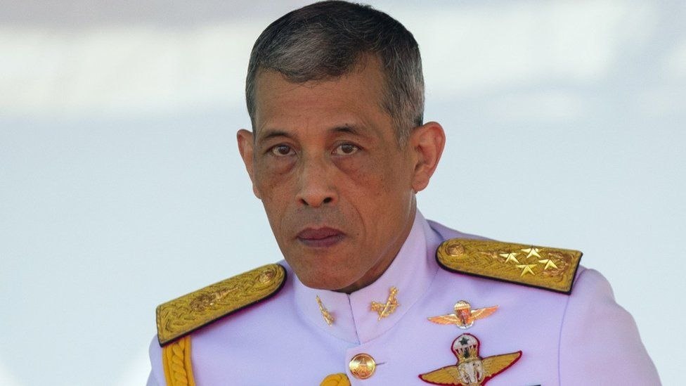 King Maha Vajiralongkorn in May 2018