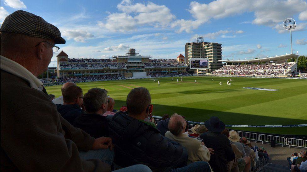 Trent Bridge cricket ground in Nottingham