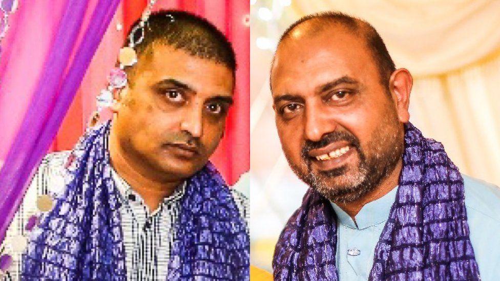 Razza Ghulam, left, and Ghulam Abbass