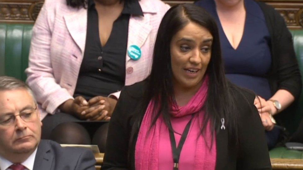 Naz Shah in the House of Commons