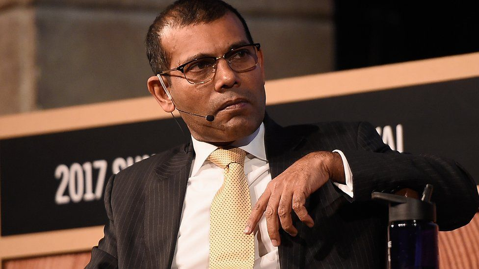 Former President Mohamed Nasheed was granted refugee status in the United Kingdom in 2016