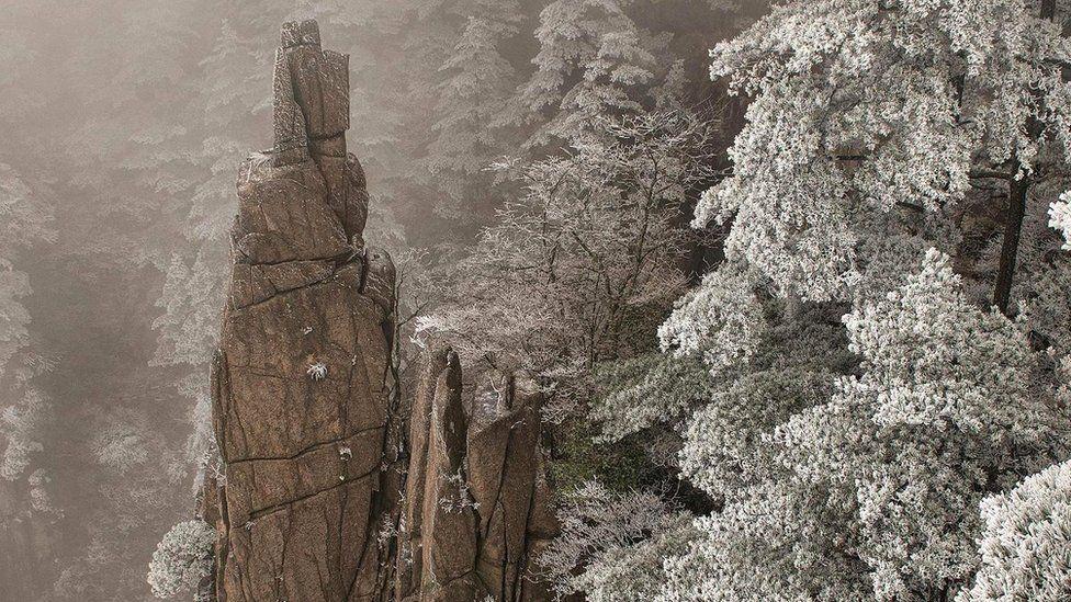 Хуаншань зимой