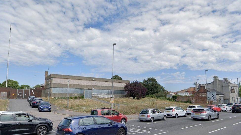 Derelict Christchurch police station