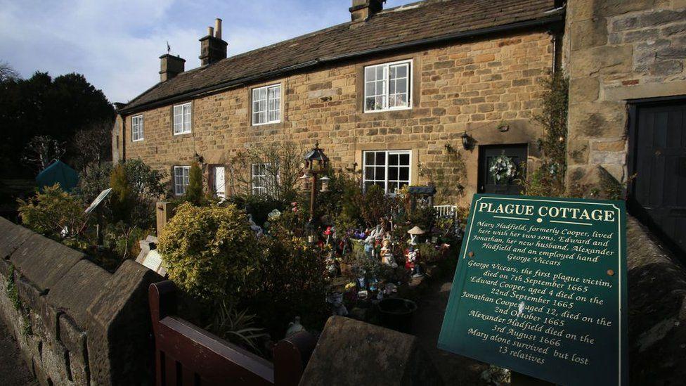 Plague cottages, Eyam