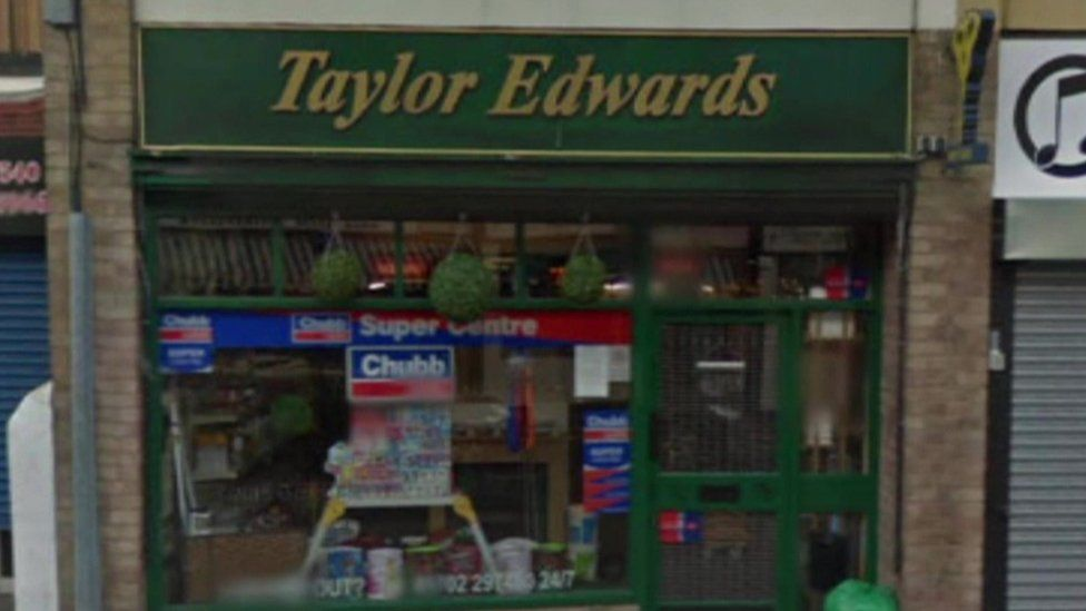 Taylor Edwards shop front