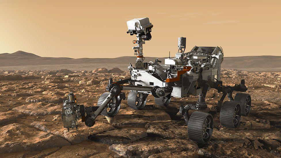 Artwork: Mars 2020
