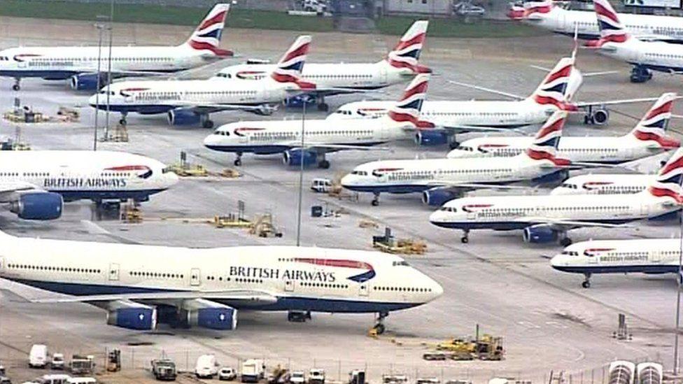 بريتش إيرويز تلغي أغلب رحلاتها ليومين بسبب إضراب الطيارين