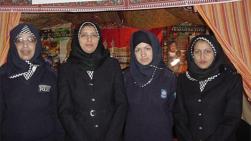 Metropolitan Police officers wearing hijab
