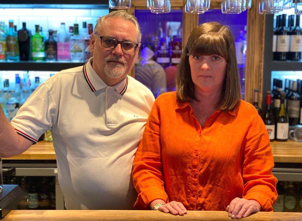 Garry Tallent and Sandy Masson