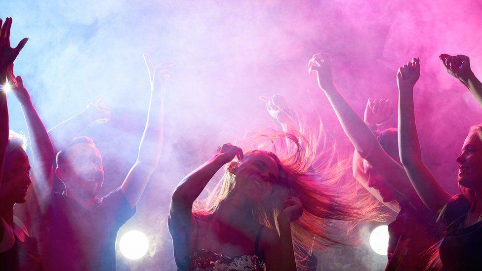 Woman dancing at nightclub (file image)