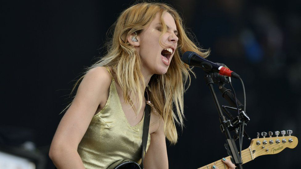 Wolf Alice on the Pyramid Stage