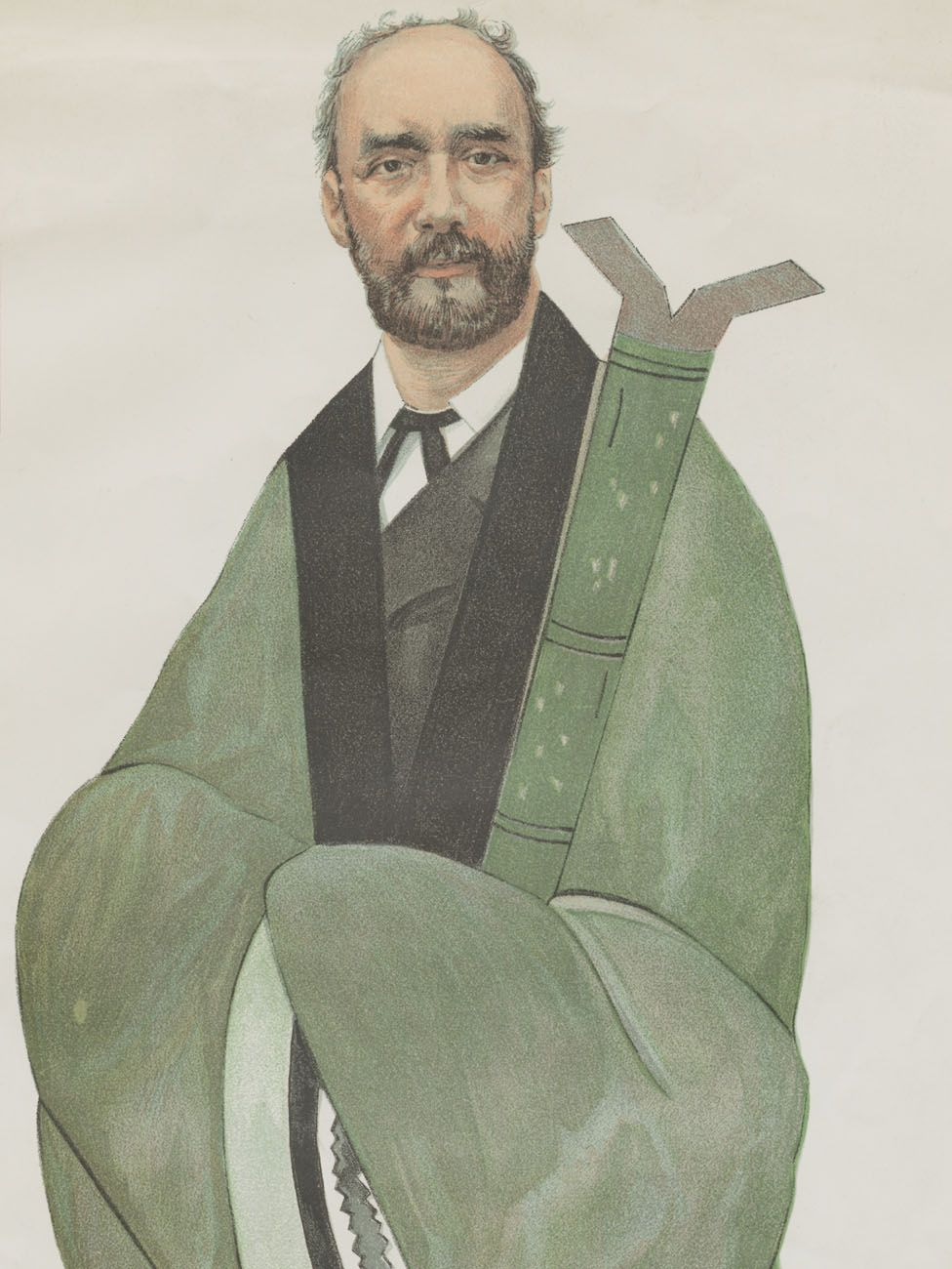 Sir Robert Hart, caricatured in the magazine Vanity Fair, December 1894