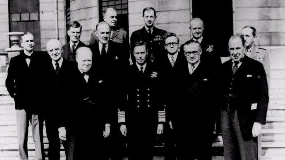 Churchill's wartime coalition