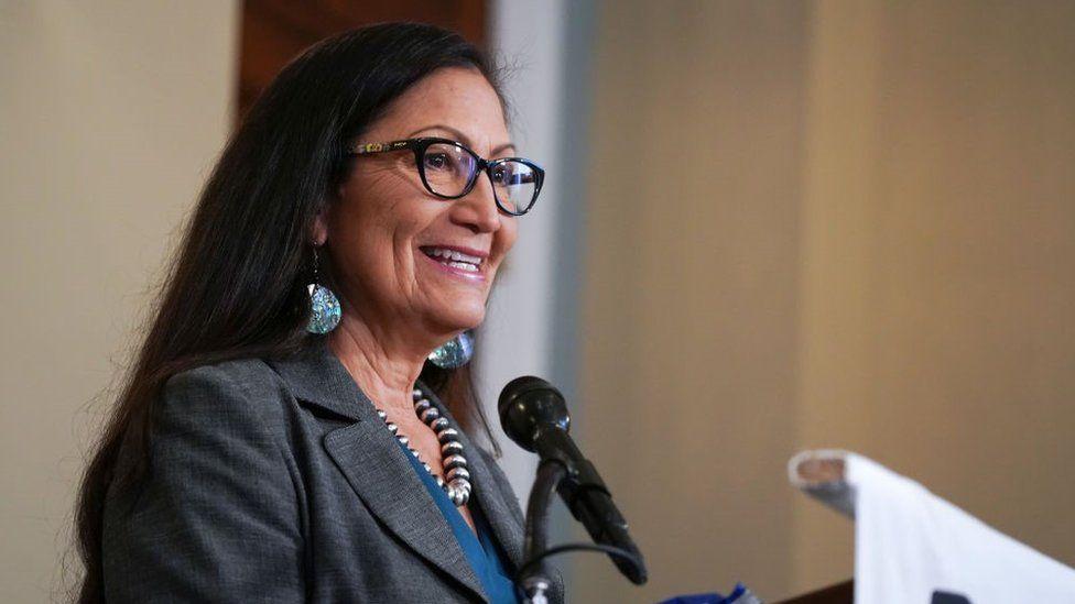 Deb Haaland: Historic Native American 'pick for Biden cabinet'