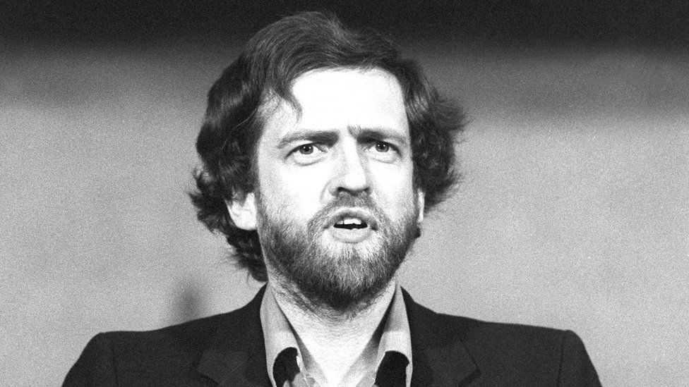 Jeremy Corbyn, MP for Islington North - January 1984