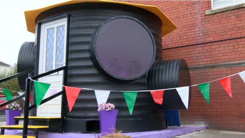 Sensory hub at Machen Primary School