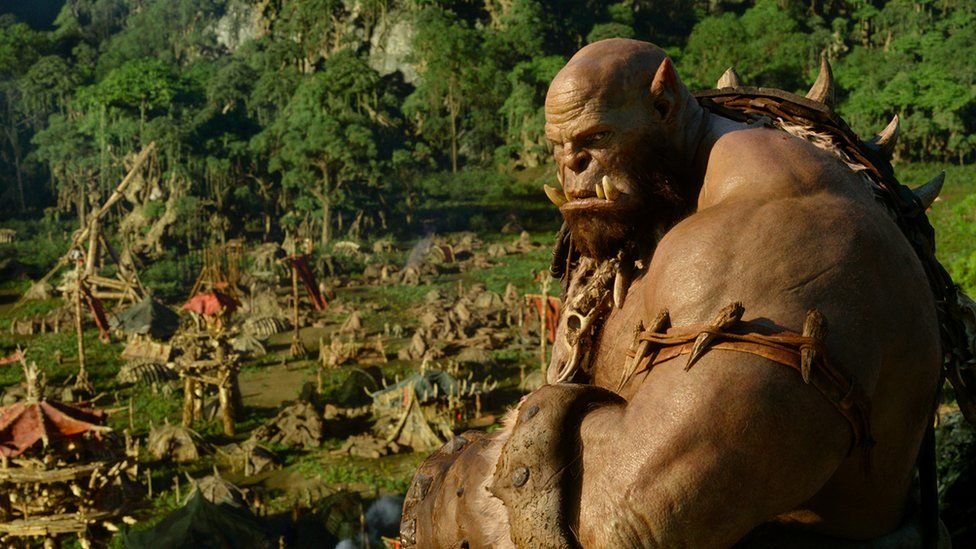 Photo of an Orc from World of Warcraft