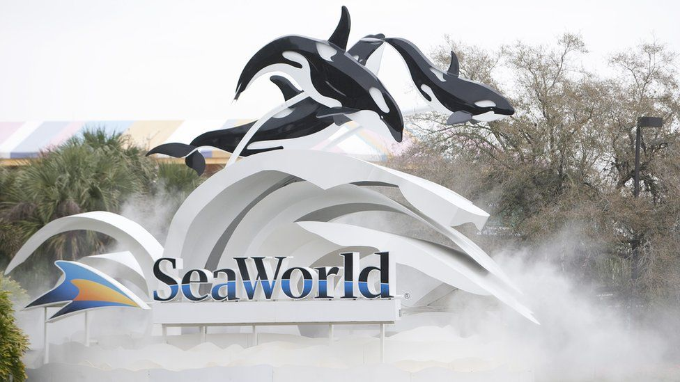 SeaWorld Orlando sign