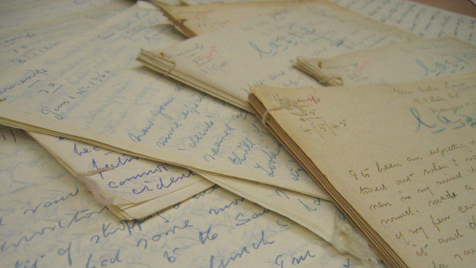 University of East Sussex war archive's Nella Last diaries