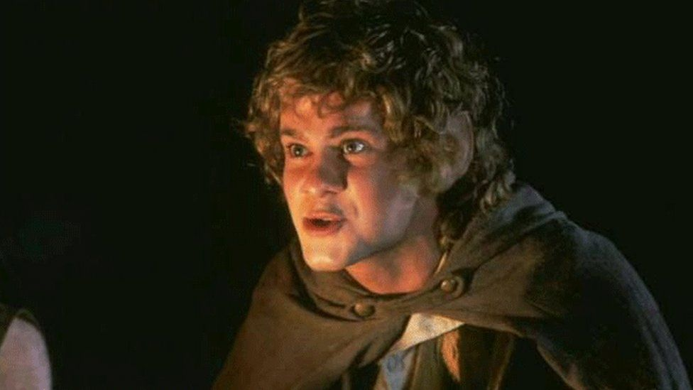 Dominic Monaghan as Hobbit Merry in The Lord of the Rings