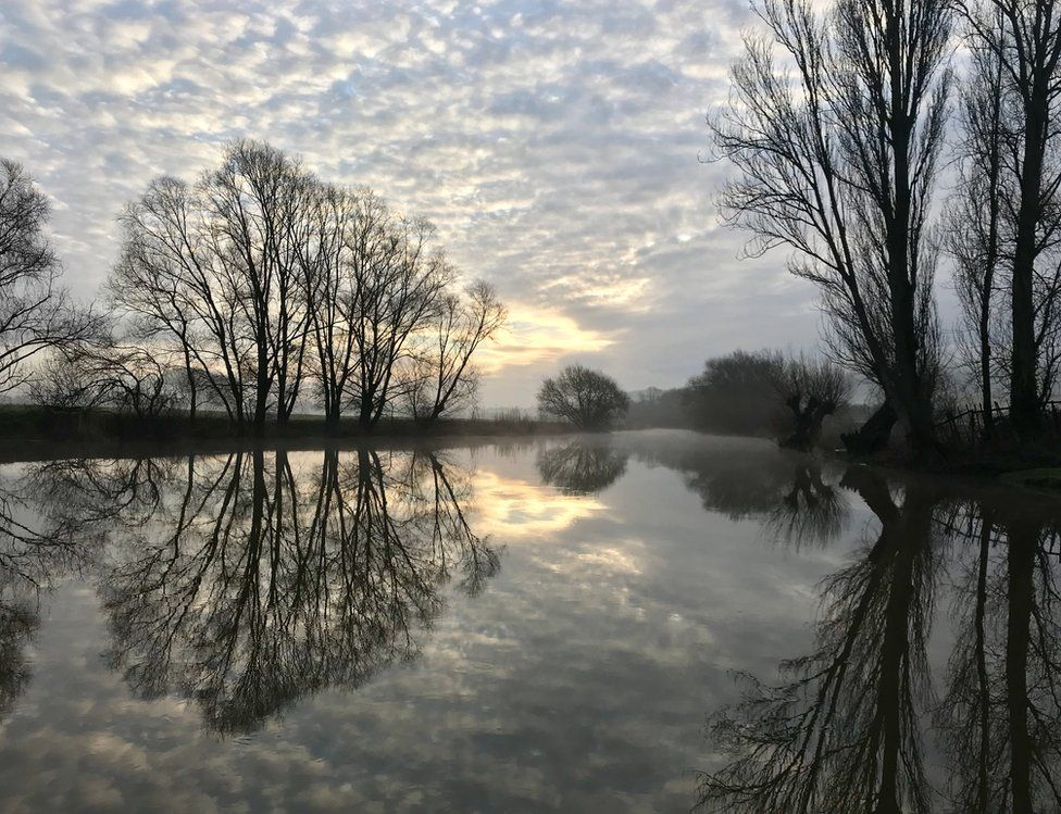 Reflections in the River Avon