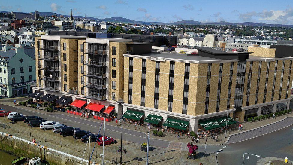 Artist impression of Isle of Man cinema development