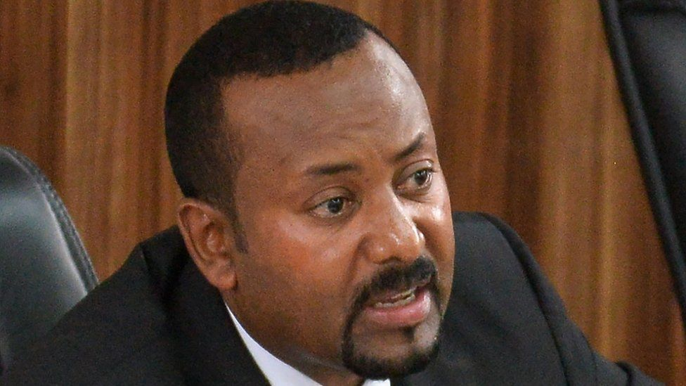 Ethiopia's PM Abiy Ahmed