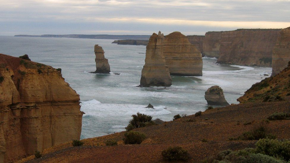 The Twelve Apostles in Port Campbell National Park, Victoria