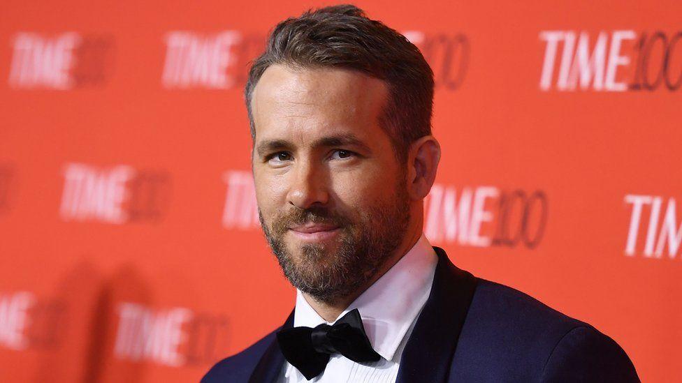 Ryan Reynolds attending the Time 100 Gala