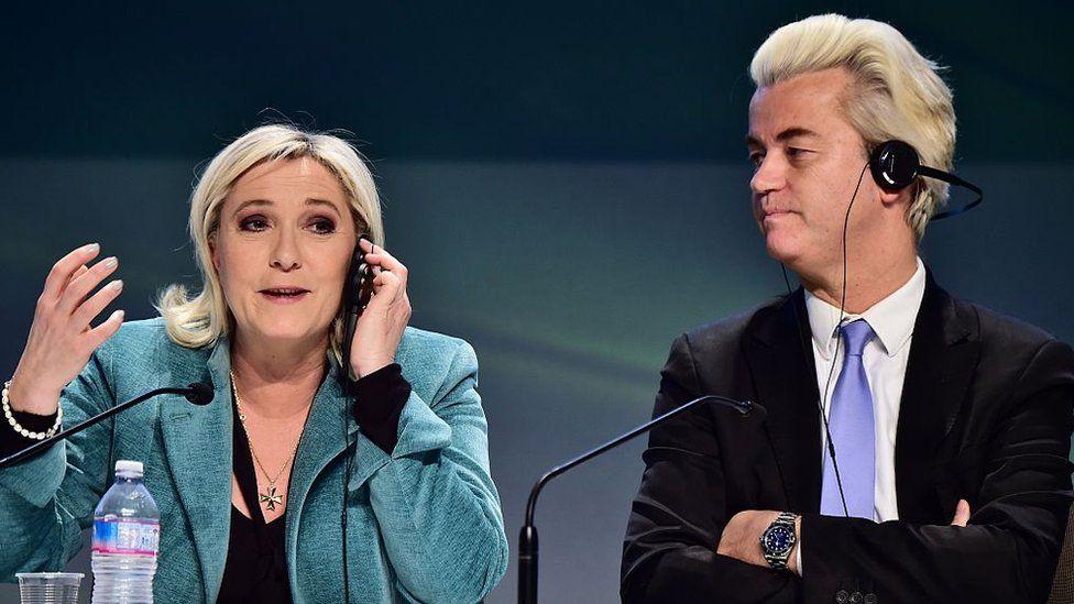 Marine Le Pen and Geert Wilders