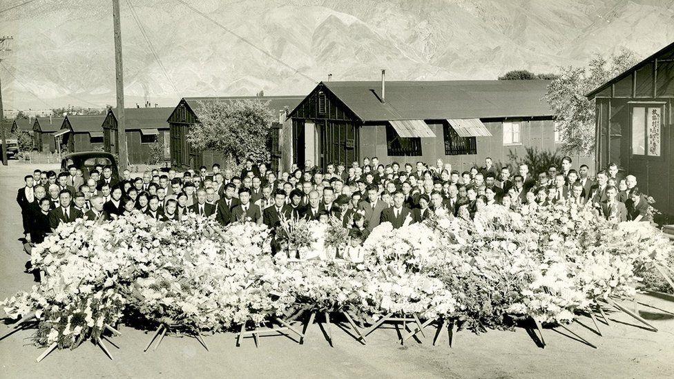 Mr Matsumura's funeral