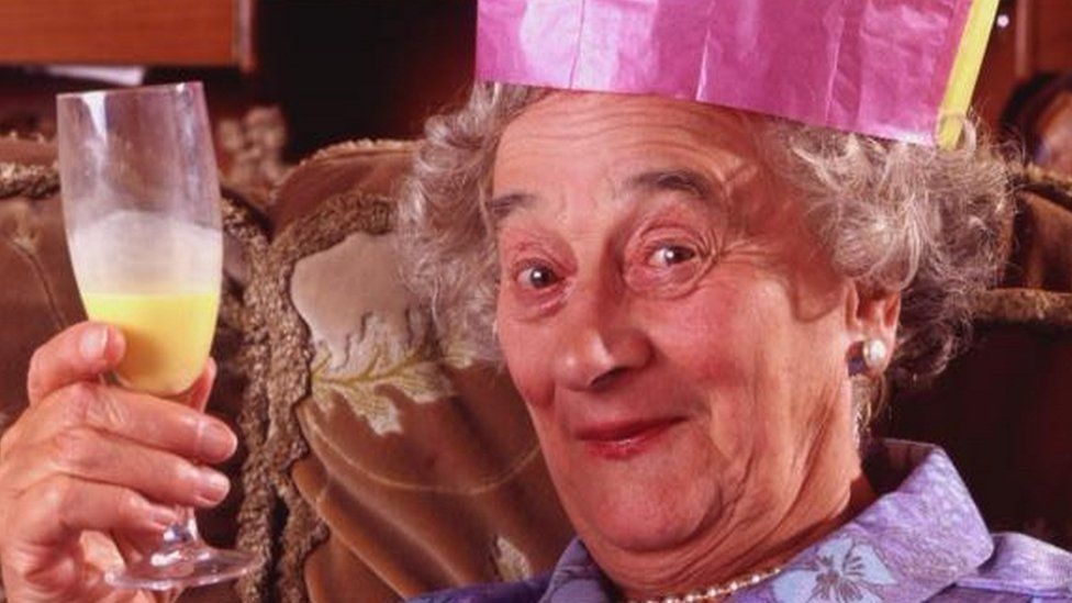 Liz Smith as Nana in The Royle Family