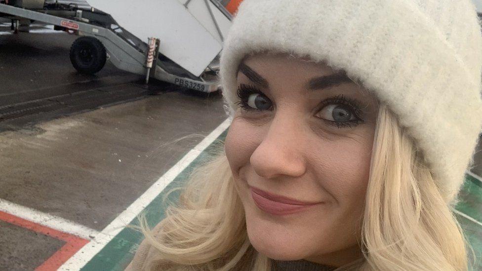 BBC presenter Holly Hamilton
