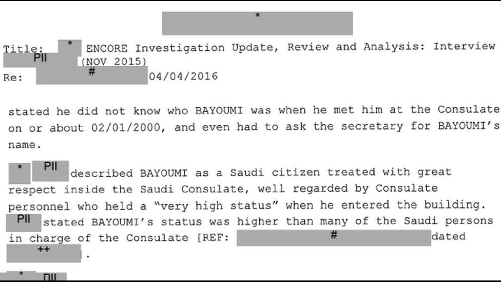 Released FBI document