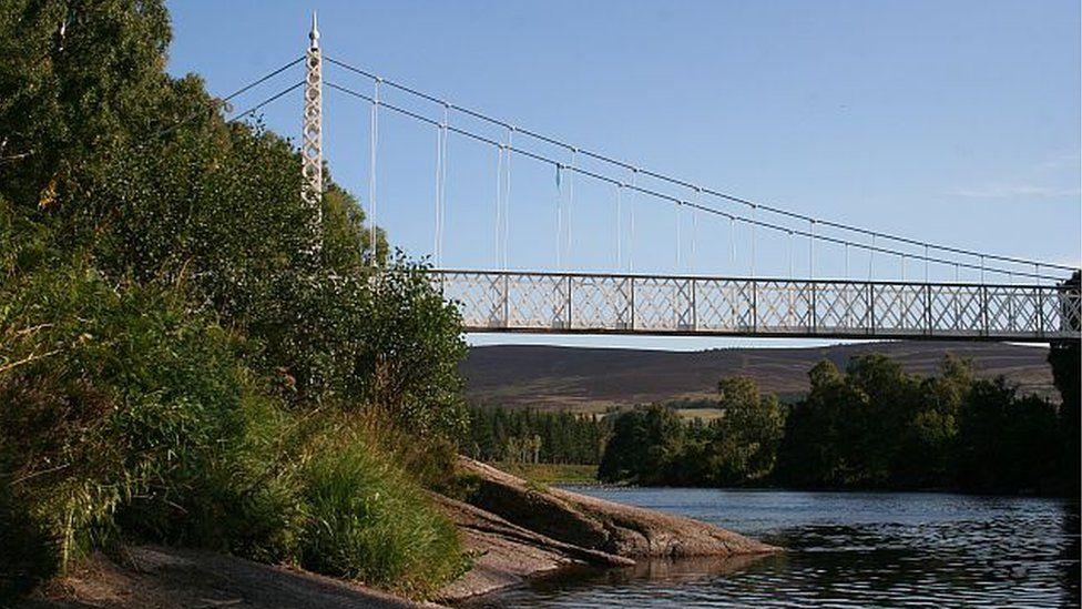 Cambus O'May bridge