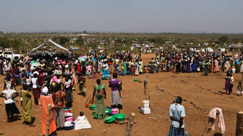Uganda's Bidibidi refugee camp