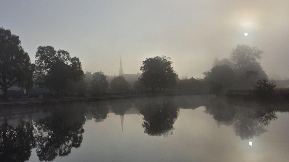 Misty River Teith
