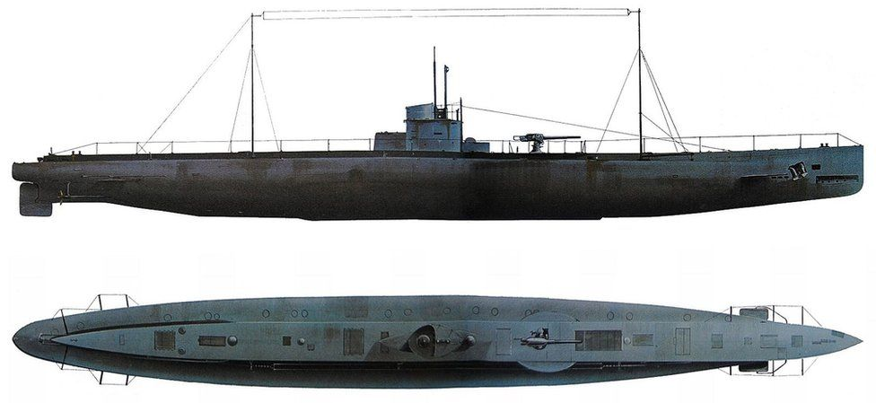 Artist's impression of what U-31 might have looked like