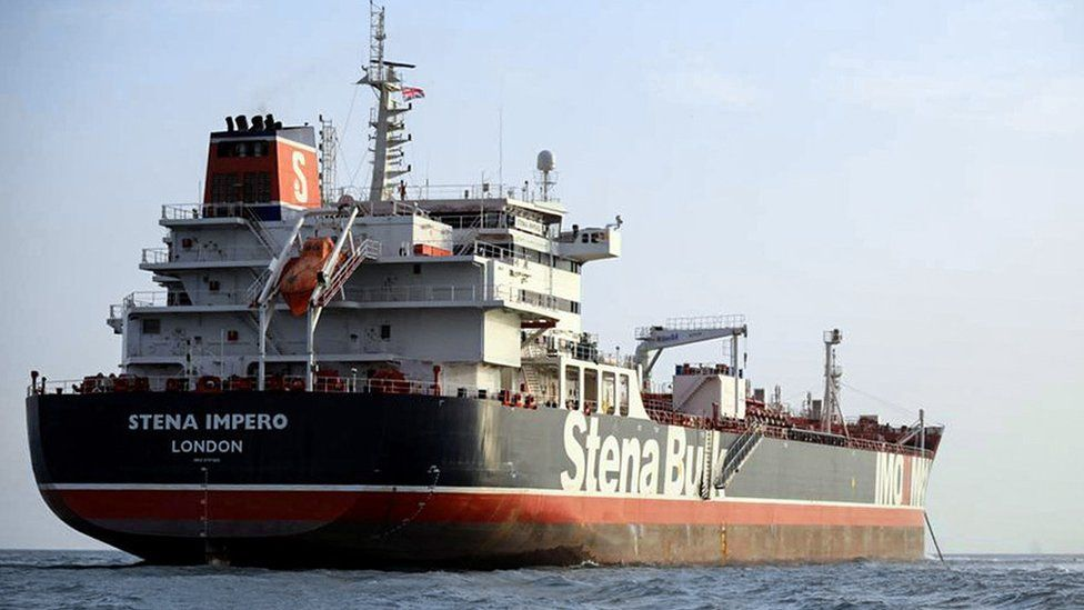 The Stena Impero, 22 July