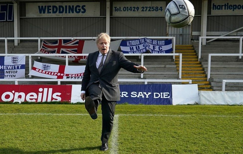 Boris Johnson in Hartlepool