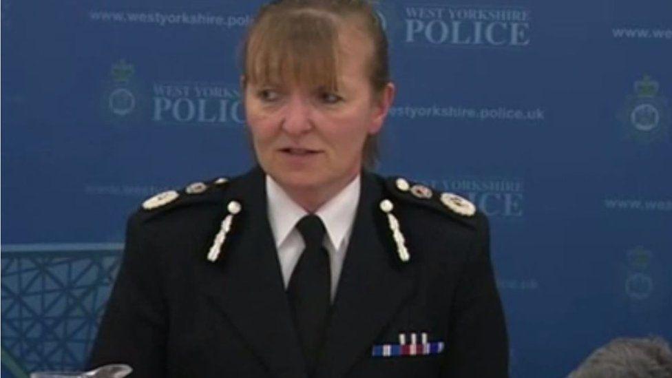 Chief Constable Dee Collins speaking in June