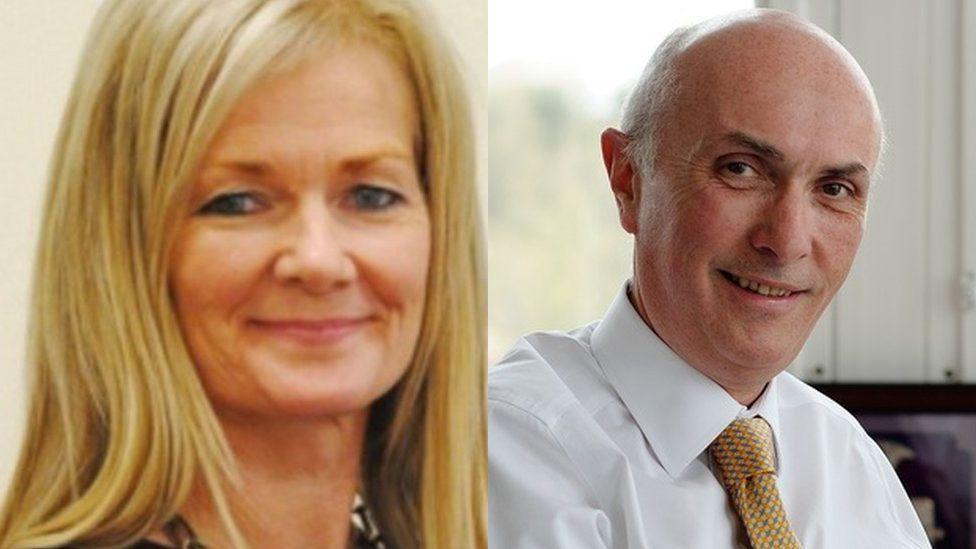 Lesley McLay and John Connell