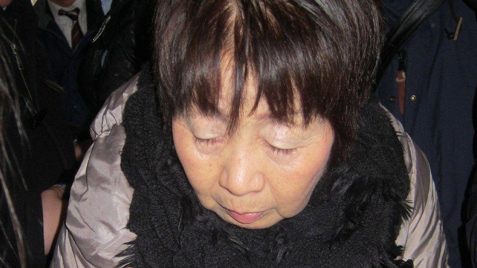 Chisako Kakehi in a file photo taken in March 2014