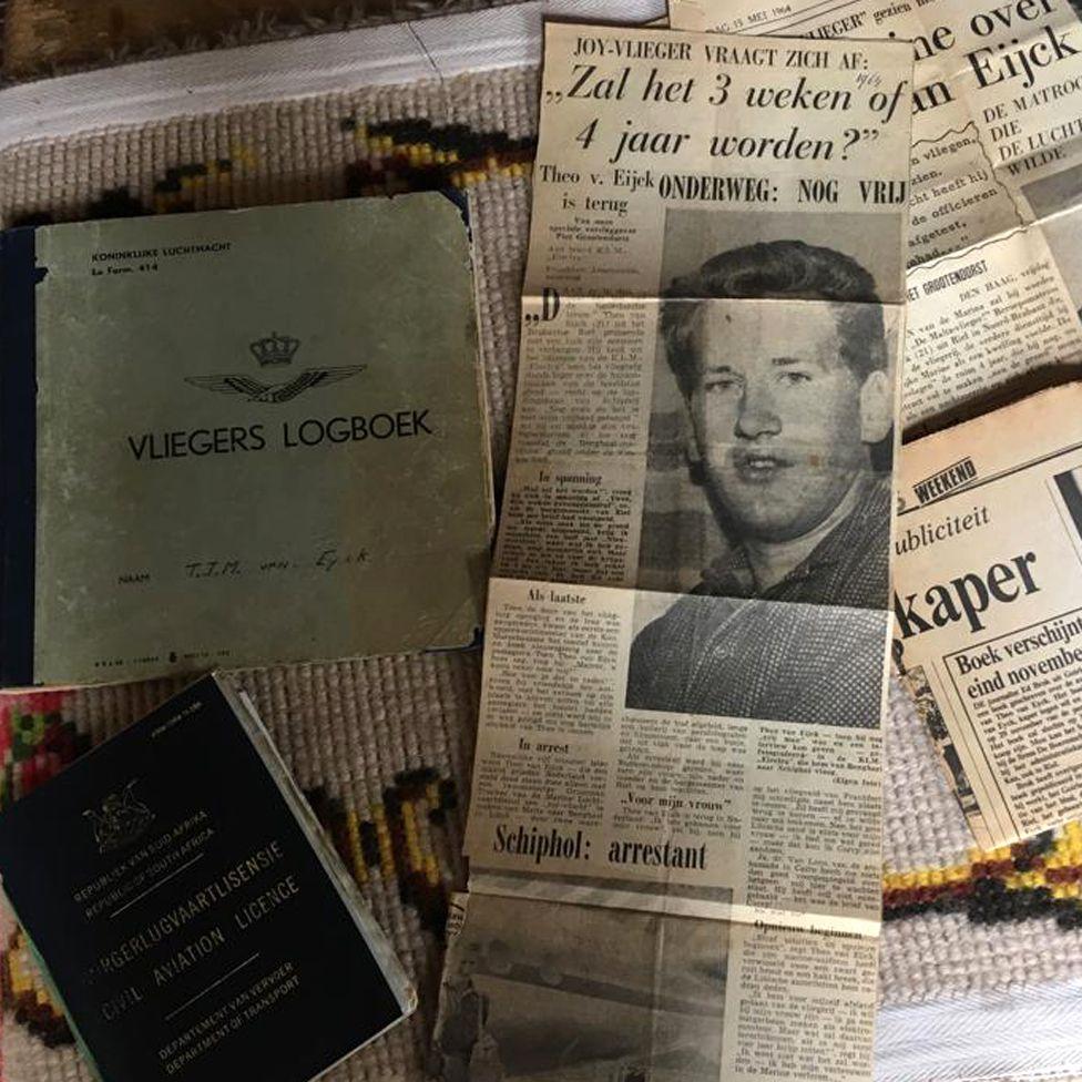 "Dutch newspapers refer to Van Eijck as a ""joy-vlieger"" - a joy-flyer"