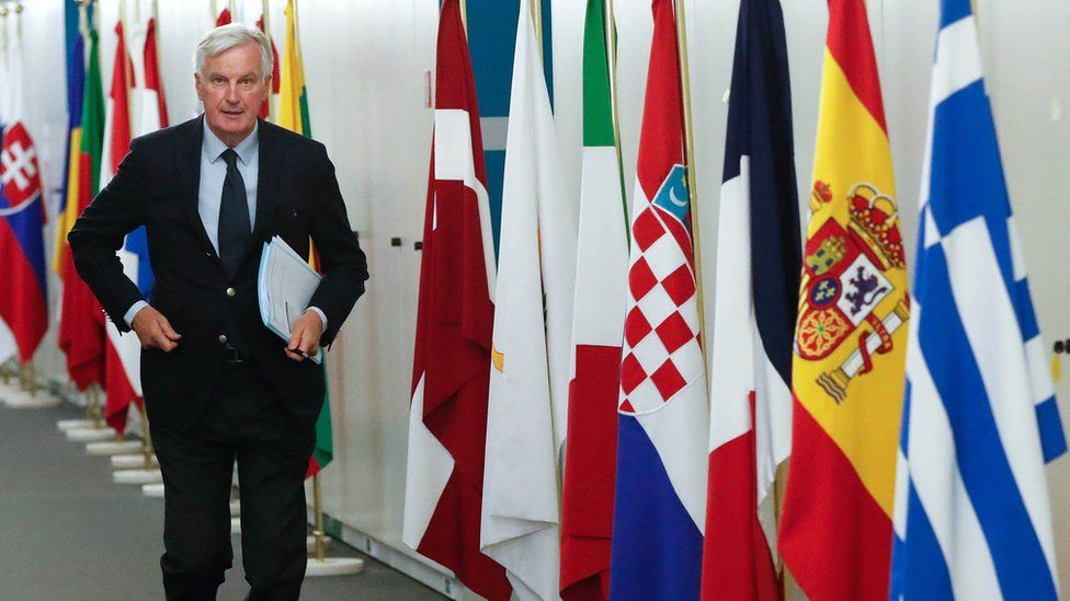Michel Barnier, Brussels, 25 Oct 18