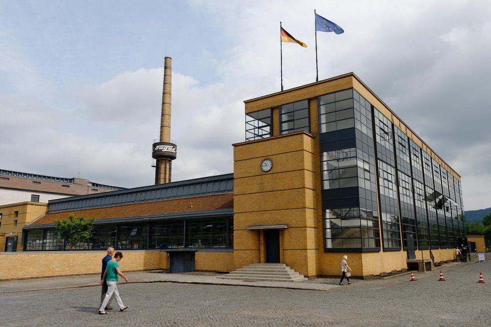 Exterior of the Fagus Factory