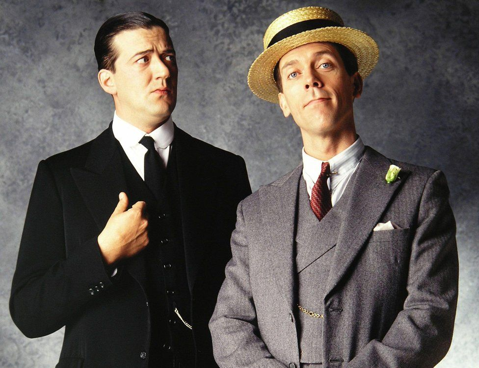 Stephen Fry and Hugh Laurie in Jeeves and Wooster