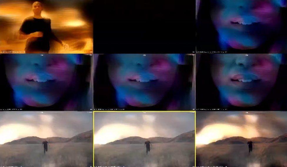 Saatchi & Saatchi AI music video