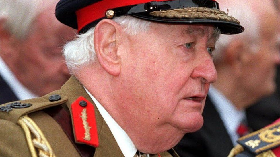 Ex-Armed Forces head Lord Bramall dies aged 95